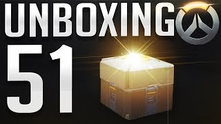 Overwatch - UNBOXING 51 Loot Boxes !! (Legendary Skins)