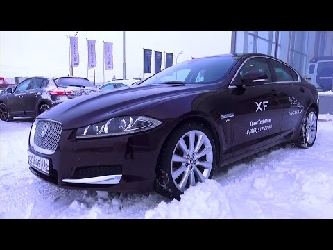2014 Jaguar XF. Start Up, Engine, and In Depth Tour.