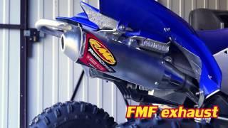 Video FMF Power Core 4 vs Stock Exhaust Sound Yamaha YFZ 450R download MP3, 3GP, MP4, WEBM, AVI, FLV Desember 2017