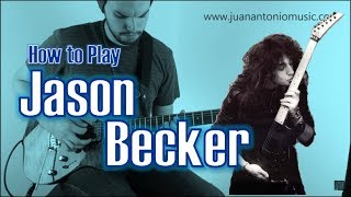 3 Easy Tips to Sound Like Jason Becker