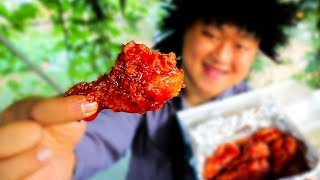 [도깨비] 최후의 양념치킨 먹방 spicy chicken MUKBANG