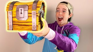 THEY SENT ME A FORTNITE LOOT CHEST!!