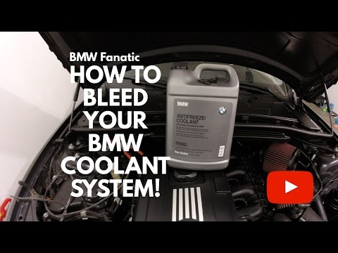 How To Bleed Your BMW N54 135i 335i 535i Coolant System!