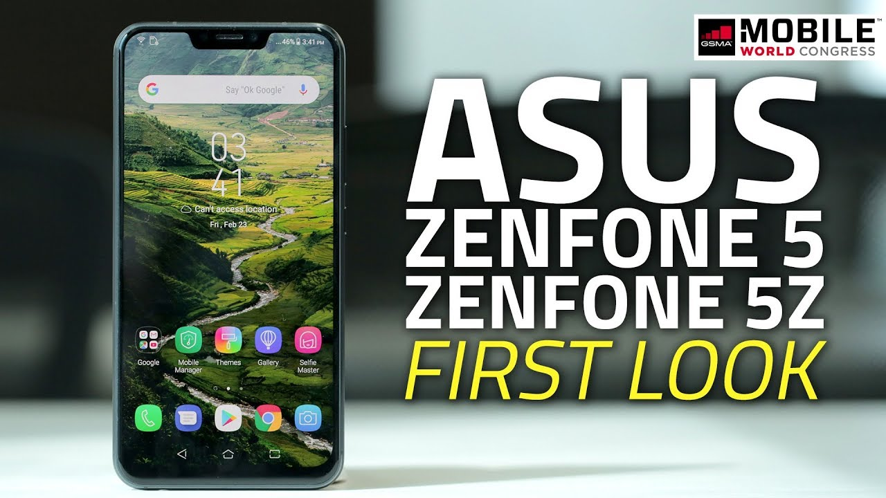 Asus Zenfone 5z And 5 2018 First Look Camera Specs Charger Xiaomi Oppo Smartfren Andromax Notch More Mwc18