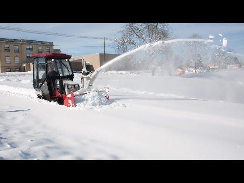 World's Best Snow Removal Machine For Sidewalks