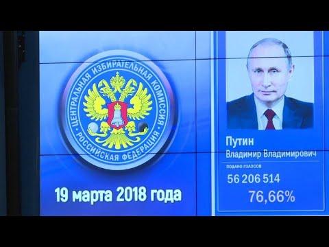 Putins Wiederwahl: Westen reagiert reserviert