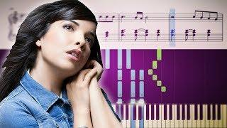 DERNIÈRE DANSE (Indila) - Piano Tutorial + SHEETS Video