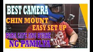 BEST HELMET  ACTION CAMERA CHIN MOUNT  (SUPREMO 4K) EASY SET UP