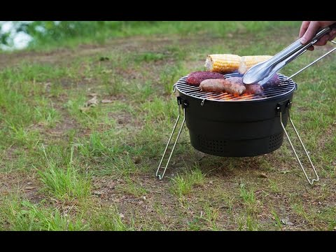 Pop Up Grill - Compact Travel Grill