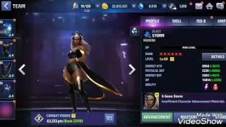 Unlock and Rank up JEAN GREY to 6* - Marvel Future Fight.