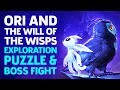 Ori And The Will Of The Wisps Boss And Exploration Gameplay