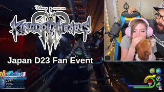 KINGDOM HEARTS 3 D23 JAPAN FAN EXPO 2018 REACTION