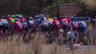 Highlights of Bupa Stage 4 - 2017 Santos Tour Down Under