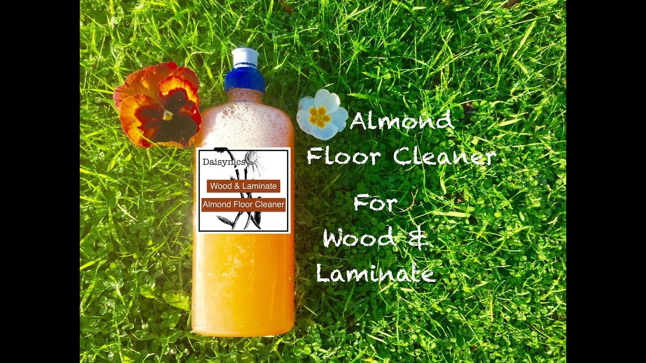 making almond floor cleaner for wood laminate non toxic youtube. Black Bedroom Furniture Sets. Home Design Ideas