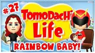 Tomodachi Life - #27 - Rainbow Baby! Thumbnail