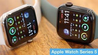 On a testé l'Apple Watch Series 5 !