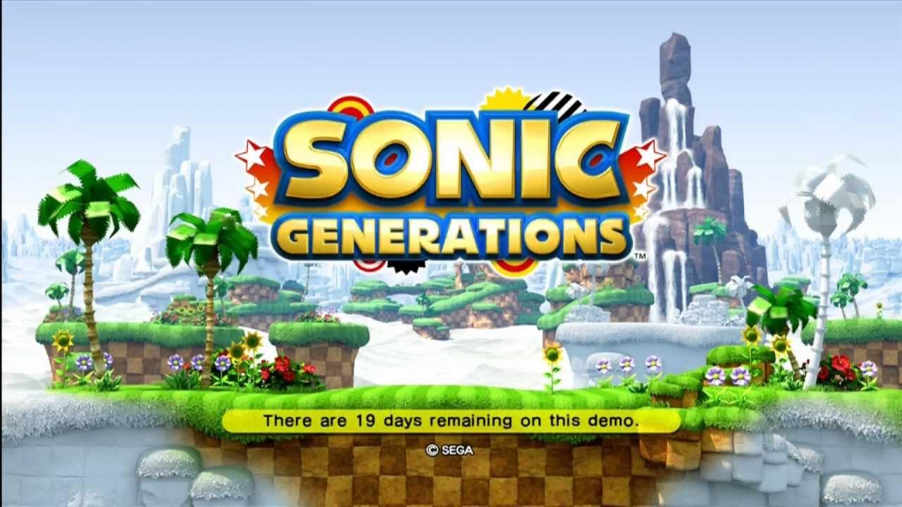 Sonic the hedgehog 2006 xbox 360 demo [download in description.