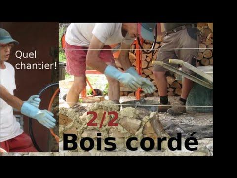 """Construction créative en """"Bois cordé"""" (2) : Alain Richard"""