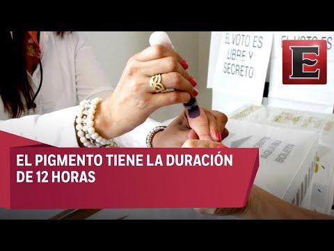IPN comienza la entrega de tinta indeleble para las elecciones