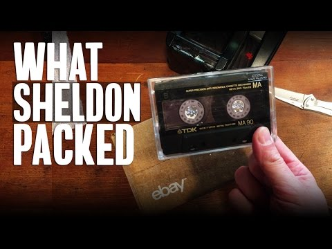 What Sheldon Packed #19: Shipping Cast Iron, Textile Rugs, Cassette Tapes & Smalls