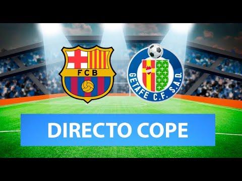 (SOLO AUDIO) Directo del Barcelona 5-2 Getafe en Tiempo de Juego COPE