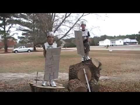 Armor of God for kids! 5 - Helmet of Salvation!