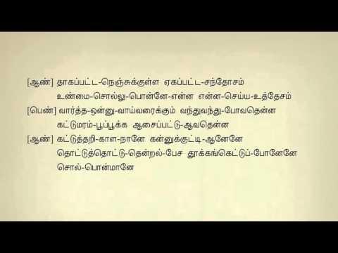 Adi Aaththaadi Ila #130 - Tamil Karaoke (Tamil Lyrics) by Dharshan
