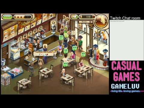 Casual Gaming: Jo's Dream Organic Coffee (Time Management game)