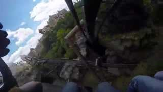 GoPro 4 Phantasialand 2015 Black Mamba Full Onride 1080p 60fps