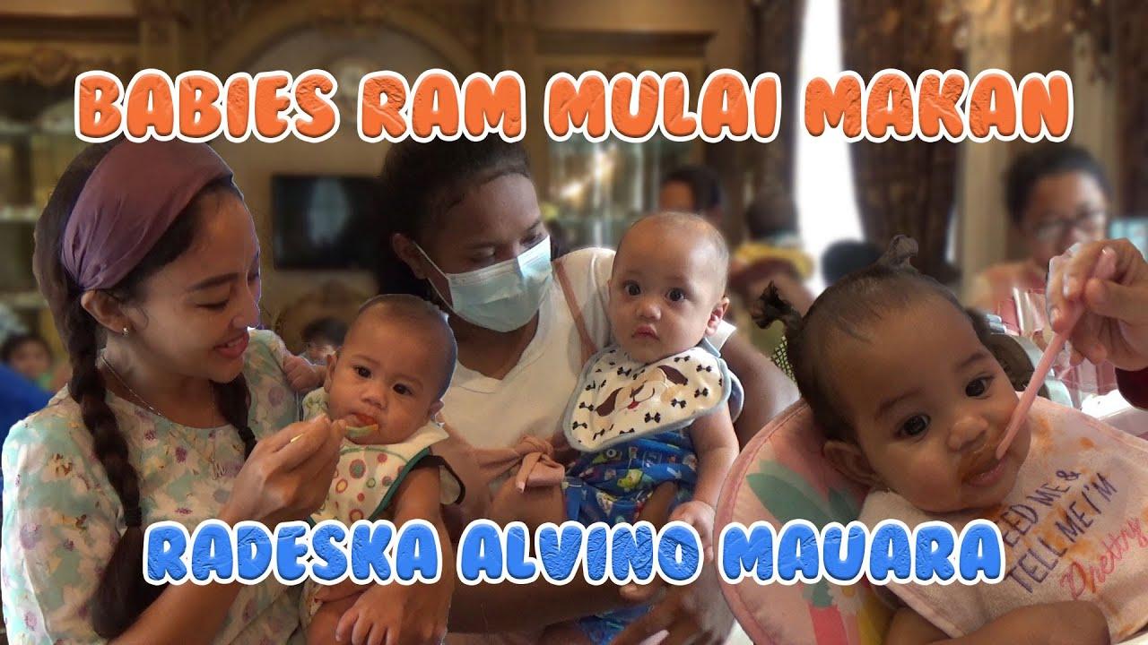 BABIES RADESKA ALVINO MAURA MULAI MAKAN