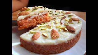 Gajar mava cake l Carrot cake recipe l Winter Recipes