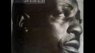 BIG BILL BROONZY - MISSISSIPPI RIVER BLUES (FULL VINYL)