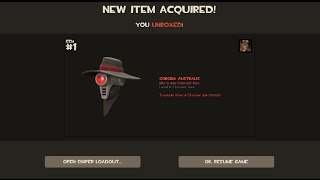 CORONA AUSTRALIS | TF2 Invasion Update Elite Sniper Hat