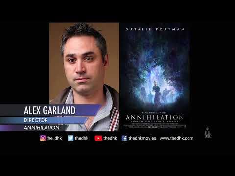 'Annihilation' Interview | Director Alex Garland (Audio Only)