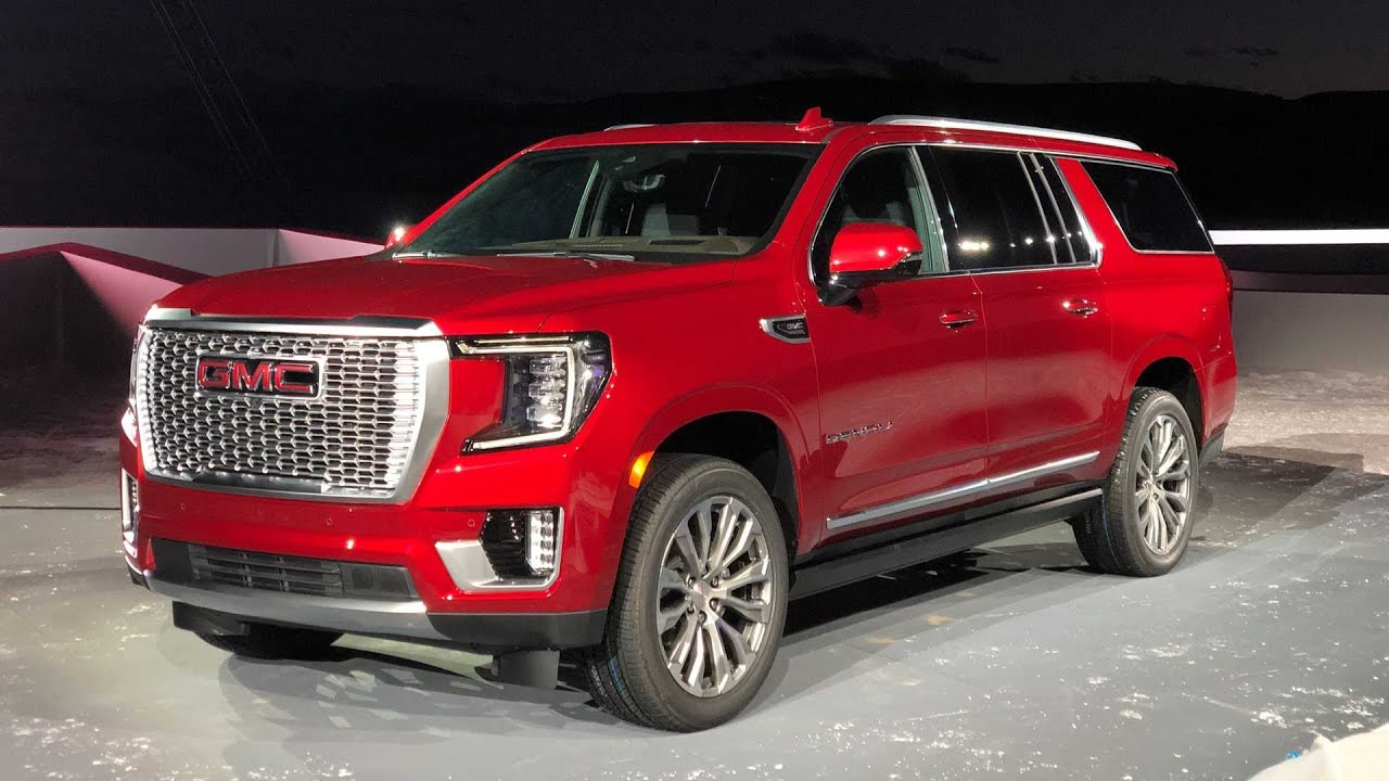 2021 Gmc Yukon First Look New At4 And Denali Youtube