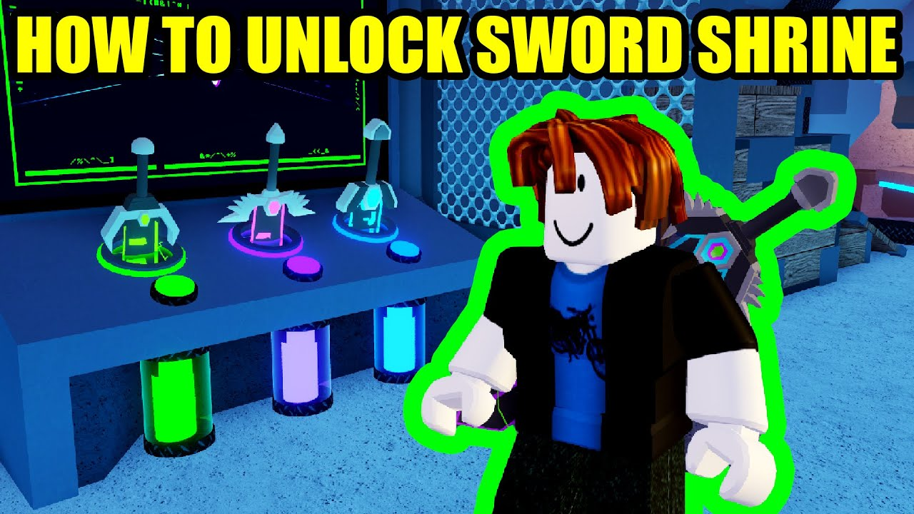 Download HOW to UNLOCK the SWORD SHRINE BADGE RB BATTLES Roblox