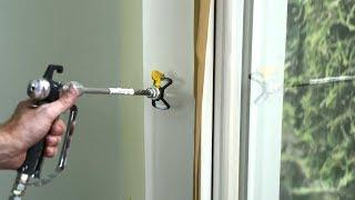Rationell arbeiten: nebelarmes Airless-Spritzen