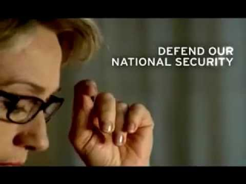 """""""Hillary Clinton will never be too busy to defend our national security."""" TV ad, March 3, 2008"""