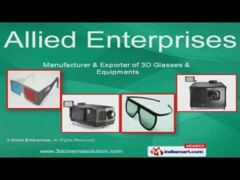 3 Dimension Glasses  by Allied Enterprises, New Delhi