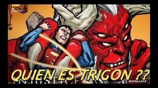 LOS MAS PODEROSOS DE DC comics : TRIGON