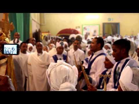 St. Mary of Zion (Tserha Tsion) Ethiopian Orthodox Church - Feast Day Hedar Tsion