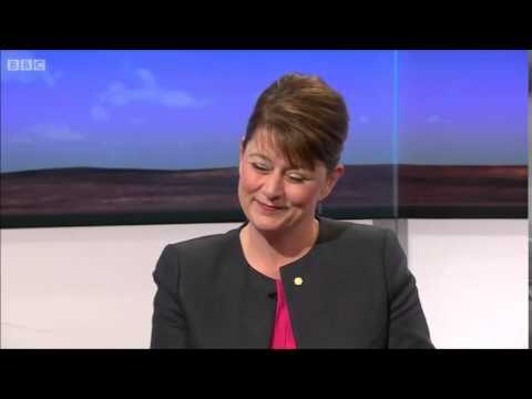 Leanne Wood (Plaid Cyrmu) on Daily Politics, 14th April 2015