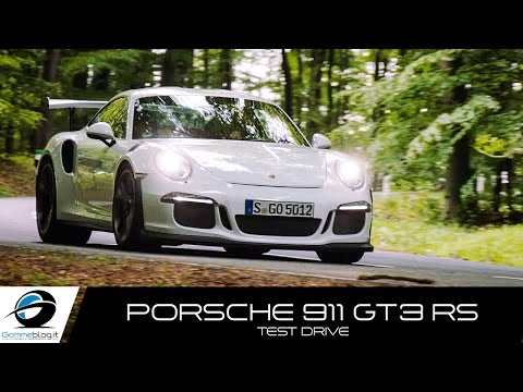 Porsche 911 GT3 RS SOUND ACCELERATIONS | TEST DRIVE