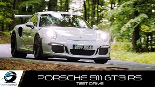 Porsche 911 GT3 RS SOUND ACCELERATIONS | TEST DRIVE