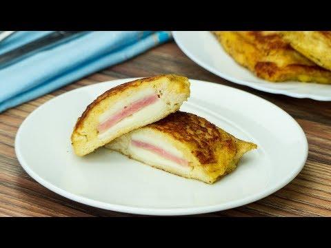 pain-grillé-au-jambon-et-au-fromage,-prêt-en-seulement-20-minutes-!|-savoureux.tv
