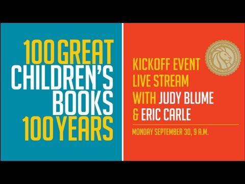 100 Great Children's Books Kickoff Event