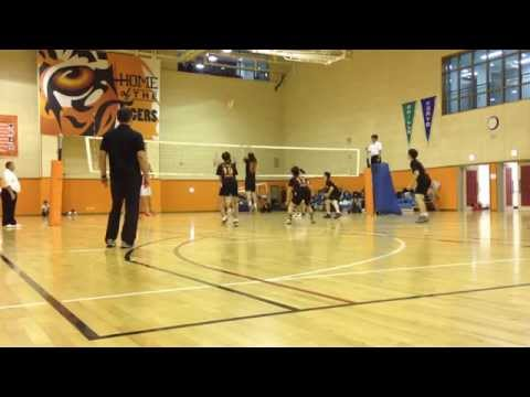High School Boys Volleyball - AISA - Day 2 - Game 3 - YIS vs SIS