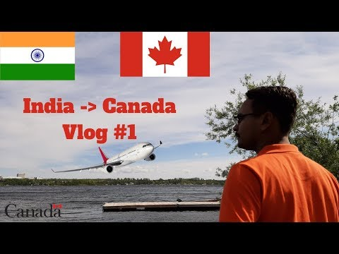 Ahmedabad 🇮🇳 To Toronto 🇨🇦 | International Travel Vlog | Etihad Airways |Vlog#1