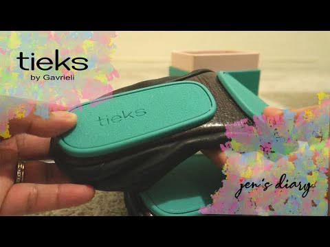"Tieks ""Matte Black"" Shoes Unboxing 
