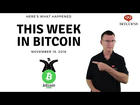 This Week In Bitcoin - Nov 19th, 2018